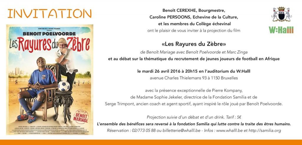 Invitations Rayures du Zèbre